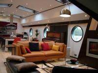 gite Auvers sur Oise Seine Loftboat