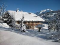 gite Chamonix Mont Blanc appartement vue mont blanc, chalet à Megève