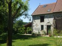 gite Marcillat en Combraille Maison De Vacances - Le Chat Blanc - Grote Gite