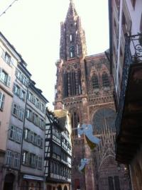 gite Strasbourg Triplex avec terrasse vue sur Cathédrale