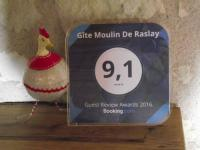 tourisme Doué la Fontaine Gîte Moulin De Raslay