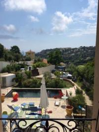 tourisme Gilette Villa piscine vue mer