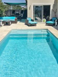 Gîte Montblanc Gîte Villa with pool near Cap d'Agde