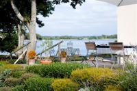 Eco Gite La Petite Presqu'ile--Terrasse-vue-sur-la-Ria-d-Etel