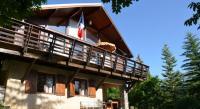 gite Saint Vincent les Forts Grand chalet proche Barcelonnette et stations de ski