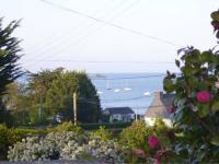 tourisme Pludual Gite les bernaches vue mer