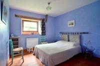 Gite du Maurel-chambre-bleue-avec-salle-de-douche-privative