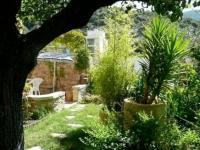 Petite maison de Charme à Nyons Drome provençale-Le-jardin