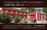 Hôtel Saint Julien de Bourdeilles Hôtel de La Beauronne