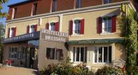 Hôtel Simandre hôtel Logis Hostellerie Bressane- Cuisery