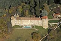 Hôtel La Guillermie hôtel Château De Vollore