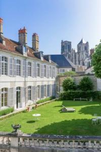 Hôtel Les Aix d'Angillon Hôtel de Panette - Un Château en Ville