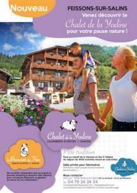 Hôtel Brides les Bains hôtel Chalet de la Yodine