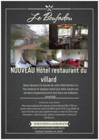 Hôtel Pinols hôtel Le Boufadou