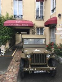 Hôtel Le Breuil en Bessin hôtel Churchill Hotel