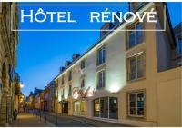 Hôtel Le Breuil en Bessin Hotel De Brunville Et Restaurant Le Café Louis