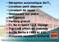 hotels La Crèche So'Lodge Niort A83