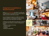 Hôtel Puyravault hôtel Logis Domaine du Prieuré