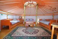 Terrain de Camping Ile de France Yourte Nomade-Lodge