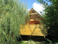 Terrain de Camping Dragey Ronthon L'escapade - cabane dans cadre bucolique