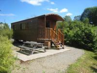 Terrain de Camping Dragey Ronthon Roulotte tout confort