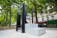 Aire de fitness en accès libre Paris 2e Arrondissement Aire de fitness en accès libre
