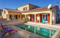 gite Berlou Nice home in Aigues Vives w Outdoor swimming pool and 3 Bedrooms