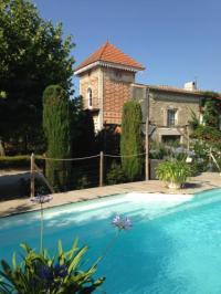 gite Carcassonne Le pigeonnier avec piscine chauffée