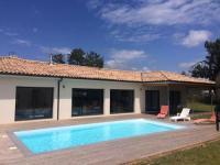 gite Audenge Nouveau : villa 5 chambres avec piscine