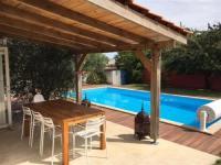 gite Puyravault House Maison de vacances t2 avec piscine