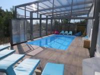 Gîte Bayonne Gîte villa 12 pers piscine chauffée couverte ou non, 2km mer, golf