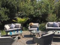 gite Andernos les Bains House Arcachon - ville d'automne - a 500m de la plage et du centre ville - villa arcachonnaise avec terrasse et jardin clos