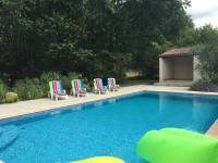 gite Pont l'Abbé d'Arnoult Maison Halcyon Gite with Pool