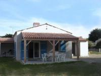 gite Barbâtre HOUSE 8 personnes Noirmoutier : Maison de vacances côté dune pour 7 personnes avec accès direct à la plage.