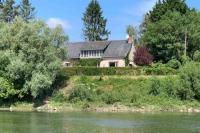 gite Montjean sur Loire Béhuard : Maison vue Loire