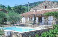 gite Rosis Stunning home in Berlou w Outdoor swimming pool and 2 Bedrooms