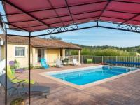 gite Les Assions Cozy Holiday Home in Vagnas with Swimming Pool