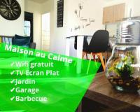 gite Branceilles Wifi Clim Garage Jardin BBQ Cosy House