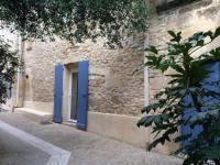 gite Vallabrix Maison de village du sud en pierre