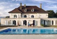 gite Captieux Magnifique villa de charme avec piscine