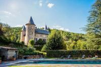gite Les Mages Chamborigaud Chateau Sleeps 18 Pool WiFi
