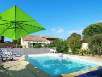 gite Saint Christoly Médoc Ferienhaus mit Pool Cissac-Médoc 100S