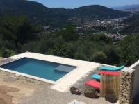 gite Castellar Cozy Holiday Home in Drap with Private Terrace