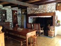 gite Thiézac House with 3 bedrooms in Merlhac with wonderful mountain view enclosed garden and WiFi 80 km from the slopes