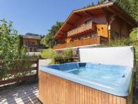 gite Passy Luxury Holiday Home in La Cote-d'Arbroz with Sauna