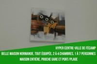 gite Villainville Belle maison normande au centre-ville de Fécamp