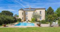 gite Mazères Fontet Chateau Sleeps 17 Pool Air Con WiFi