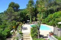 gite Èze Gattieres Villa Sleeps 9 Pool