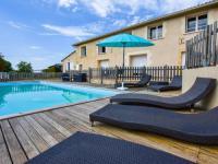 gite Donzac Gîte avec piscine privée belles vues
