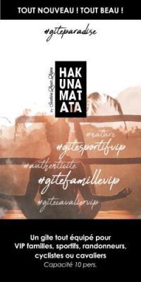 gite Yenne HAKUNA MATATA - Gite et Spa